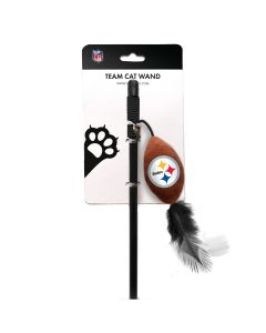 Pittsburgh Steelers Cat Team Wand Toy