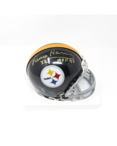 Pittsburgh Steelers #32 Franco Harris Autographed Riddell Mini Throwback Helmet