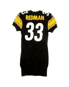 Pittsburgh Steelers #33 Issac Redman 2006 Team Issued Home Jersey