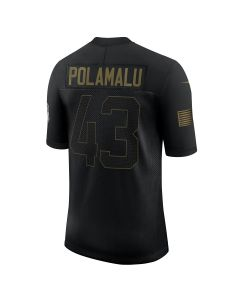 Troy Polamalu #43 Nike Men's Limited Salute to Service Jersey