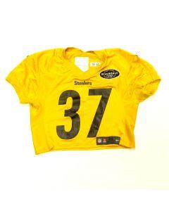 Pittsburgh Steelers #37 Jordan Dangerfield 2018 Used Practice Jersey