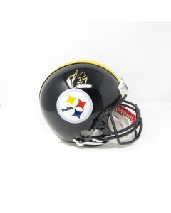 Pittsburgh Steelers #39 Minkah Fitzpatrick Autographed Riddell ProLine Authentic Full Size Helmet
