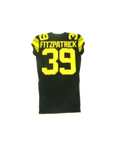 Pittsburgh Steelers 2017 Team Issued #39 Minkah Fitzpatrick Color Rush Jersey