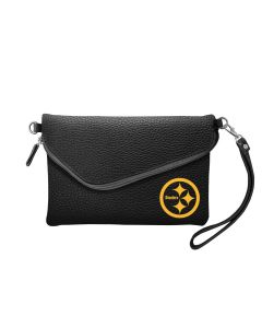 Pittsburgh Steelers Color Rush Pebble Fold Over Purse