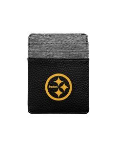 Pittsburgh Steelers Color Rush Front Pocket Pebble Wallet
