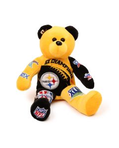 Pittsburgh Steelers 6X Super Bowl Champs Bear