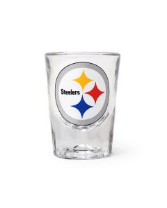 Pittsburgh Steelers Fluted 2oz Shot Glass