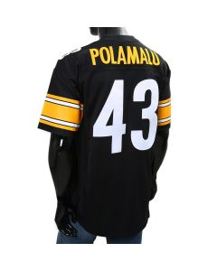 Troy Polamalu #43 Mitchell & Ness Limited/Replica Home Jersey