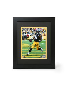 Pittsburgh Steelers #19 JuJu Smith-Schuster Signed Framed 8x10 Photo