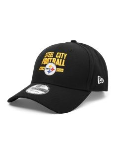 Pittsburgh Steelers New Era 9FORTY Steel City Football Hat