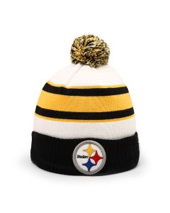 Pittsburgh Steelers New Era Retro Cuff Knit Hat