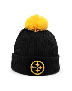 Pittsburgh Steelers New Era Crush Knit Hat