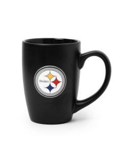 Pittsburgh Steelers 15 oz. Bistro Black Mug