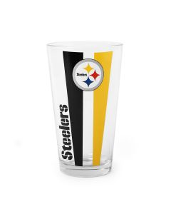 Pittsburgh Steelers Vertical Stripe Mixing Glass
