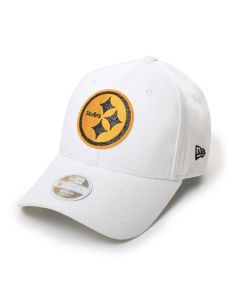 Pittsburgh Steelers Women's New Era 9FORTY Glitter Glam Team Hat