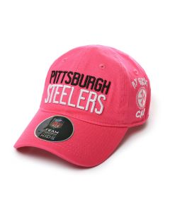 Pittsburgh Steelers Infant Pink My First Neo Cap