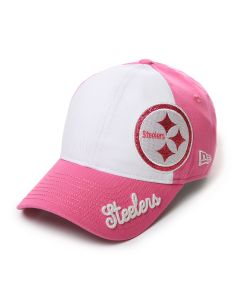 Pittsburgh Steelers New Era 920 Girl's Glitter Sweep Cap