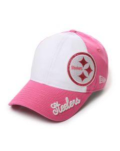 Pittsburgh Steelers New Era 920 Girl's Glitter Sweep Cap