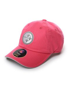Pittsburgh Steelers Youth Pink Constant Tonal Cap