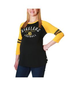 Pittsburgh Steelers Women's Touch by Alyssa Milano Maternity Huddle T-Shirt