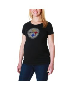 Pittsburgh Steelers Women's Touch by Alyssa Milano Maternity Powerplay T-Shirt