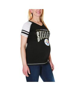 Pittsburgh Steelers Women's Maternity Multi-count Football T-Shirt