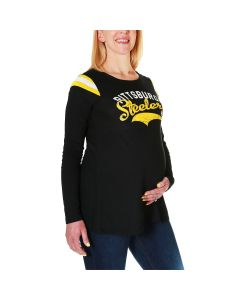 Pittsburgh Steelers Women's Touch by Alyssa Milano Maternity Championship T-Shirt