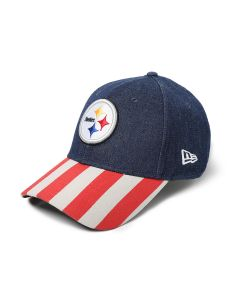 Pittsburgh Steelers New Era 9FORTY Stars and Stripes Cap