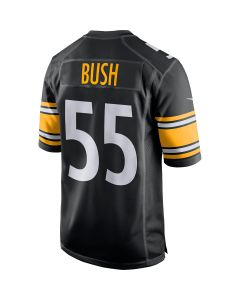 Devin Bush #55 Men's Nike Replica Home Jersey