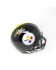 Pittsburgh Steelers #47 Mel Blount Autographed Riddell ProLine Authentic Full Size Helmet
