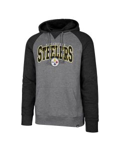 Pittsburgh Steelers '47 Men's Varsity Block Pullover Fleece Hoodie