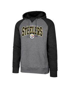 Pittsburgh Steelers '47 Men's Varsity Block Pullover Fleece Hoodie