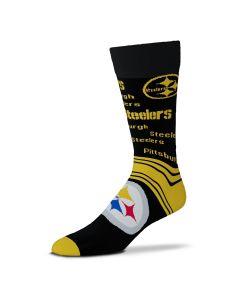 Pittsburgh Steelers End to End Big Logo Socks