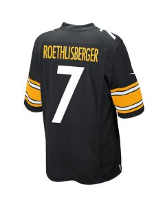 Ben Roethlisberger #7 Youth Nike Replica Home Jersey