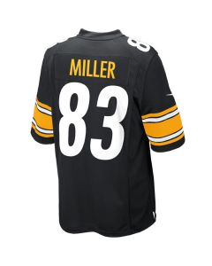 Heath Miller #83 Youth Nike Replica Home Jersey