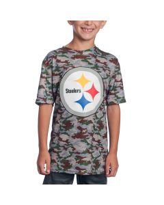 Pittsburgh Steelers Boys Performance Short Sleeve T-Shirt