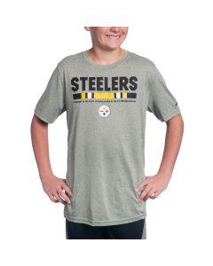 Pittsburgh Steelers Boy's Nike Youth Sideline Legend Staff T-Shirt