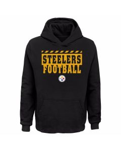 Pittsburgh Steelers Boy's Train Tough Hoodie