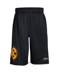 Pittsburgh Steelers Boys' Under Armour NFL Combine Intimidator Shorts