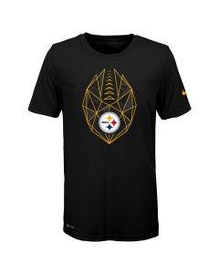 Pittsburgh Steelers Boys' Nike Icon Short Sleeve T-Shirt
