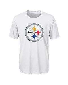 Pittsburgh Steelers Exclusive Boys' Ex Machina Logo Short Sleeve T-Shirt
