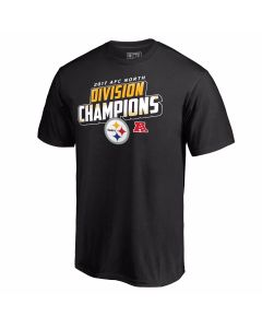 Pittsburgh Steelers Youth 2017 AFC North Champs Short Sleeve T-Shirt