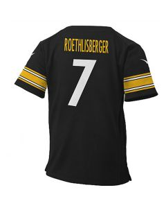 Ben Roethlisberger #7 Nike Toddler Replica Game Jersey