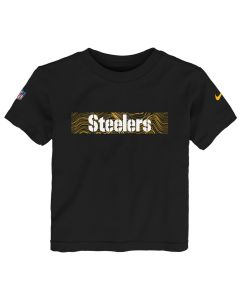 Pittsburgh Steelers TODDLER Boys' Nike Seismic Short Sleeve T-Shirt