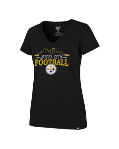 Pittsburgh Steelers Women's '47 City Scape Short Sleeve T-Shirt