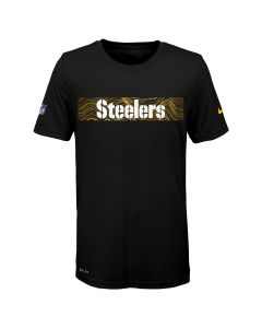 Pittsburgh Steelers Little Boys' Nike Seismic Short Sleeve T-Shirt