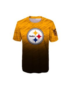 Pittsburgh Steelers Boys' Propulsion Short Sleeve T-Shirt