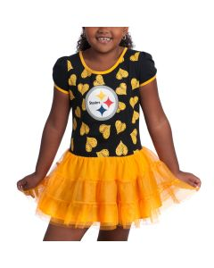 Pittsburgh Steelers Girls Love to Dance Tutu Dress