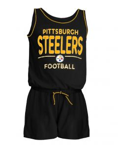 Pittsburgh Steelers Girls' New Era Romper