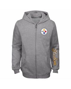 Pittsburgh Steelers Girl's Train Smart Hoodie